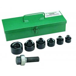 Greenlee / Textron - 39860 - Manual Punch Driver Set, 15, 10 ga. Steel