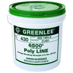 Greenlee / Textron - 431 - 240 lb. x 5200 ft. Poly Line&#x3b; PK1