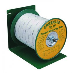 "Greenlee / Textron - 435 - 3/16"" x 3000 ft. Conduit Measuring Tape"