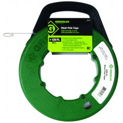 Greenlee / Textron - 438-5H - Metal Fish Tape 50' Cable Greenlee (moq=5)