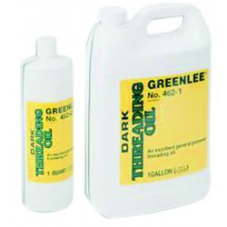 Greenlee / Textron - 462-1 - Greenlee 462-1 Cutting/Threading Oil, Dark , 1 Gallon