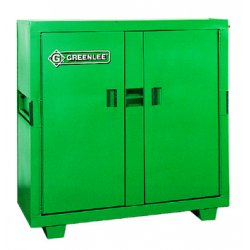 Greenlee / Textron - 5660L - Storage Chest Flat Top Greenlee Gang Box 56 In Hx24 In Wx60 In L Steel Green, Ea