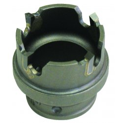 Greenlee / Textron - 645-1-3/8 - Carbide Hole Saw, Carbide Tipped, 1-3/8 In