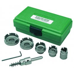 "Greenlee / Textron - 660 - Carbide Cutter Kit. 7/8"", 1-1/8"", 1-3/8"", 1-3/4, 2"""