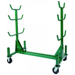 Greenlee / Textron - 668 - Pipe Rack, Mobile, 7 Bin