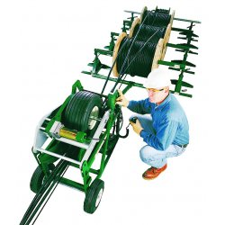 Greenlee / Textron - 6810 - Electrical Cable Feeder, 3.5 In Dia, 115V