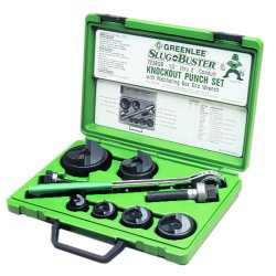 Greenlee / Textron - 50320149 - 1-1/2 In. and 2 In. Conduit Knock-Out Punch Kit