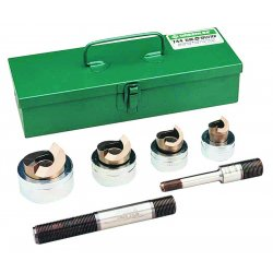 Greenlee / Textron - 744 - Hydraulic Punch Driver Set, 10 ga. SS