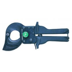Greenlee / Textron - 760 - Ratchet Cable Cutter, 13-3/4 Overall Length, Center Cut Cutting Action, Primary Application: Electric