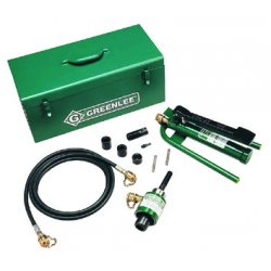 Greenlee / Textron - 7625 - Slug-Splitter Driver Punch Hydraulic Knock Out Kit