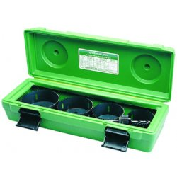 Greenlee / Textron - 834 - Hole Saw Set, 4-1/2 in Dia, Variable Pitch