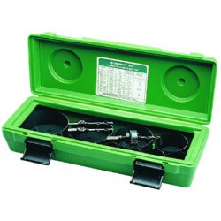 Greenlee / Textron - 835 - Hole Saw Kit, 4-1/2 in Dia, Variable Pitch