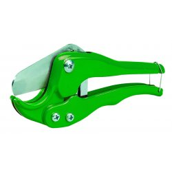 "Greenlee / Textron - 864 - 8""L Racheting Pipe Cutter, Cuts PVC, PE, ABS"