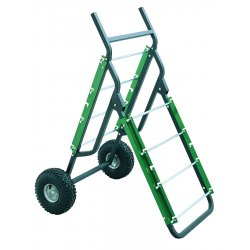 """Greenlee / Textron - 9510 - Greenlee Caddy,Deluxe A Frame Mobile (9510) - 600 lb Capacity - 10"""" Caster Size - 28.3"""" Width x 48"""" Height"""