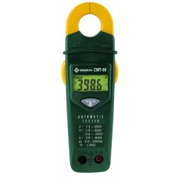 "Greenlee / Textron - CMT-80 - Clamp On Digital Clamp Meter, 1-1/16"" Jaw Capacity, CAT IV 600V"