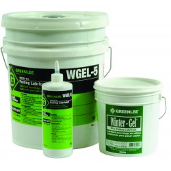 Greenlee / Textron - WGEL-5 - Greenlee WGEL-5 LUBE, 5 GAL WINTER GEL