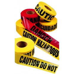 C.H. Hanson - 15024 - Caution Safety Tape Hazard Keep Away