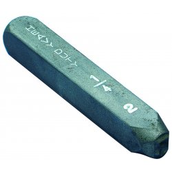 "C.H. Hanson - 21151-S - 3/8"" Letter S Heavy Dutysteel Hand Stamp, Ea"