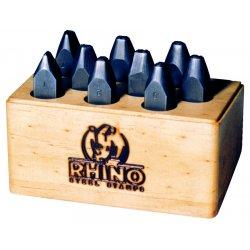 "C.H. Hanson - 21760 - Rhino Letter Stamp Set, 1/4"", Steel"