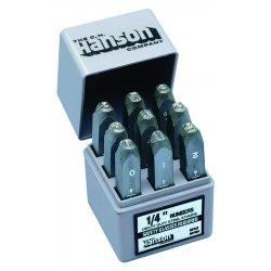 "C.H. Hanson - 23021 - 1/2"" 9pc Premier Numberset Steel Hand"