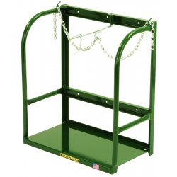 Harper Trucks - 401 - Harper 28' X 22 1/2' Stationary Cylinder Holder With 9' X 21' Base Plate And Chain-Lok, ( Each )
