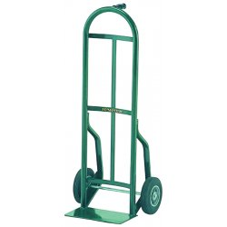Harper Trucks - 54T86 - Harper Series 54T 600 lb Steel Industrial Hand Truck With 10' X 2' Solid Rubber Wheels, Pin Handle And 7' X 14' Base Plate, ( Each )
