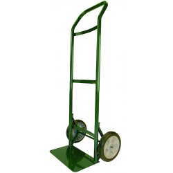 Harper Trucks - 55HA22 - Harper Super Steel Series 55H 300 lb Commercial Quality Hand Truck With 8' X 1 3/4' Solid Rubber Zero Pressure Wheels And Ergonomic Handle (For Cylindrical Objects And Cartons), ( Each )