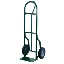 Harper Trucks - 59T86 - Harper Series 59T 600 lb Steel Industrial Hand Truck With 10' X 2' Solid Rubber Wheels, Loop Handle And 7' X 14' Base Plate, ( Each )