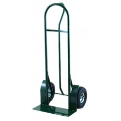 Harper Trucks - H59K19 - Harper 600 lb Steel Industrial Hand Truck With 10' X 3 1/2' Pneumatic 2-Ply Tubeless Wheels, Vertical Loop Handle And 8' X 20' Base Plate, ( Each )