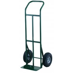 Harper Trucks - K54DK19 - Harper Series K54 600 lb Commercial Quality Hand Truck With 10' X 3 1/2' Pneumatic 2-Ply Tubeless Wheels, Continuous Handle And 7' X 14' Base Plate