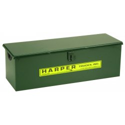 Harper Trucks - LT-2 - Harper 22' X 7' X 7' Bolt-On Lock Top Tool Box, ( Each )