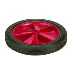 Harper Trucks - WH25P - Harper 12'' X 1 3/4'' 150 lb Semi-Pneumatic Wheel With 2' Hub And 3/4' Plain Bearing