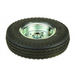 "Harper Trucks - WH29 - Harper 12"" X 3 1/2"" 500 lb Pneumatic Wheel With 4 1/4"" Hub And 3/4"" Ball Bearing"