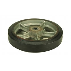 Harper Trucks - WH50 - Harper 12'' X 2 1/2'' 750 lb Mold-On Rubber Wheel With 2 3/4' Hub And Roller Bearing, ( Each )