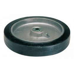 Harper Trucks - WH62 - Harper 10'' X 2'' 600 lb Mold-On Rubber Wheel With 2 1/4' Hub And 5/8' Ball Bearing, ( Each )