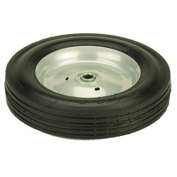 "Harper Trucks - WH70C - Harper 8'' X 1 3/4'' 150 lb Semi-Pneumatic Conductive Wheel With 1 3/8"" Hub And 1/2"" Ball Bearing"