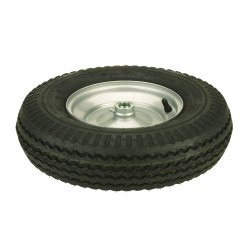 Harper Trucks - WH72 - Harper 16' X 4' 435 lb Pneumatic Wheel With 4 1/4' Hub And 3/4' Ball Bearing, ( Each )