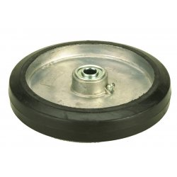 """Harper Trucks - WH77 - Harper 8"""" X 1 5/8"""" 450 lb Replacement Mold-On Rubber Wheel With 2"""" Cast Aluminum And 5/8"""" Ball Bearing"""
