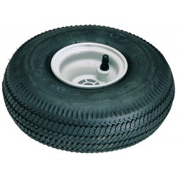 Harper Trucks - WHK19 - Harper 10'' X 3 1/2'' Pneumatic 2-Ply Tubeless Wheel With 2 1/4' Hub And 5/8' Ball Bearing, ( Each )