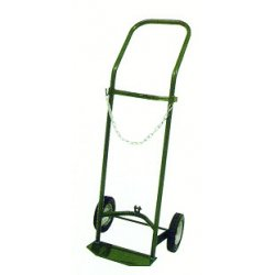 Saf-T-Cart - 250-0 - Saf-T-Cart Cylinder Truck With 8' X 1 3/4' SC-5 Semi-Pneumatic Wheels, U-Shaped Handle, 14' X 6' Base Plate And STP-42 Strap (For High Pressure Cylinders), ( Each )