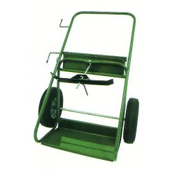 Saf-T-Cart - 504-30 - Saf-T-Cart 1680 lb Dual Cylinder Cart With 30' X 6' SC-12 Auto Tires, Continuous Handle And 13' X 24' Base Plate, ( Each )