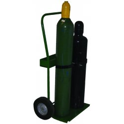 "Saf-T-Cart - 820-10 - Cart With Sc-8 Wheels 20"" Cylinder Capacity"