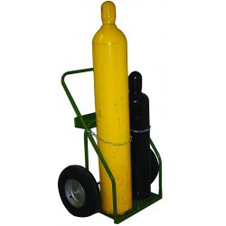 "Saf-T-Cart - 861-10 - Cart With Sc-8 Wheels 21"" Cylinder Capacity"