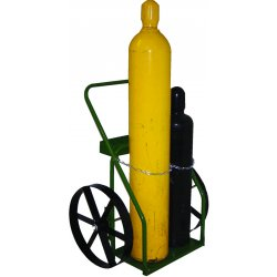 "Saf-T-Cart - 863-20 - Cart With Sc-13 Wheels 21"" Cylinder Capacity"