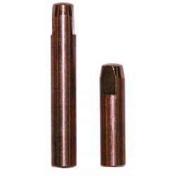 "Bernard - 1590 - Bernard Model 1590 .045"" 1500 Elliptical Series Heavy Duty Contact Tip For 150 - 600A Q-Gun And S-Gun Series MIG Guns (25 Per Package)"