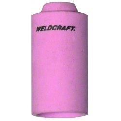 """WeldCraft - 10N46 - Weldcraft 1 27/32"""" Alumina #8 Non-Gas Lens Nozzle With 1/2"""" Orifice For WP-17, WP-17V, WP-18, WP-18V, WP-26 And WP-26V Torches"""