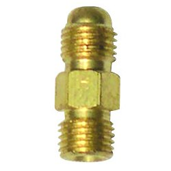 WeldCraft - 430A - Weldcraft 3/8 - 24 Brass Power Cable Coupler For Air Cooled WP-9 And WP-17 Torch, ( Each )