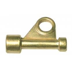 WeldCraft - 45V62 - Weldcraft Brass Gas Power Cable Adapter For Air Cooled WP-26 Torch, ( Each )