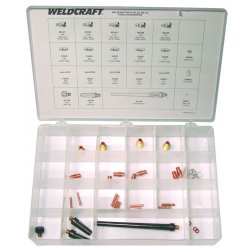 WeldCraft - MAK-1S - Weldcraft Starter Kit For WP-9, WP-9P, WP-20, WP-20P And WP-25 Torches, ( Each )