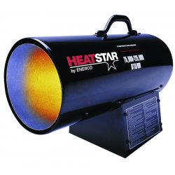 Heat Star - F170125 - Port Prop Forced Air Htr75000-125000 Btu F170125